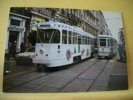 TRAIN 4908 - VUE N° 08/36 - SERIE DE 36 CARTES SUR LES TRAMWAYS DE SAINT ETIENNE DANS LA LOIRE - Tramways
