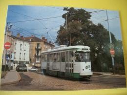 TRAIN 4918 - VUE N° 12/36 - SERIE DE 36 CARTES SUR LES TRAMWAYS DE SAINT ETIENNE DANS LA LOIRE - Tramways
