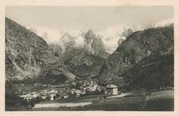 9899) COURMAYEUR PANORAMA VEDUTA E CATENA MONTE BIANCO NON VIAGGIATA 1923 CIRCA - Italia