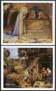 1994 Sierra Leone Lorenzo Monaco Giorgione Natale Christmas Noel Quadri Paintings Peintures 2 Block MNH** RR82 - Sierra Leone (1961-...)