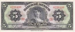 BILLETE DE MEXICO DE 5 PESOS DEL AÑO 1963 CALIDAD EBC (XF)  (BANKNOTE) - México
