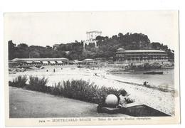 MONACO MONTE CARLO BEACH Bains De Mer Et Piscine Olympique - Monte-Carlo