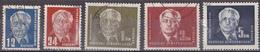 Sk_ DDR -  Mi.Nr. 251 - 255 -  Gestempelt Used - [6] Oost-Duitsland