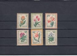 Bulgarie - Fleurs Diverses - Neufs** - Année 1960 - Y.T. N° 1018/1023 - Bulgaria