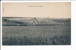 Carte Du Cimetière ( Militaire ) De Vaux Racine   ( Recto Verso ) - France