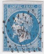 N° 14 A  PC  918  COMBOURG   /   ILLE ET VILAINE  - LOT 12118    INDICE 8 + VARIETE - 1853-1860 Napoleon III