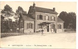SAINT RIQUIER  ( Somme  ) LA GARE - Saint Riquier
