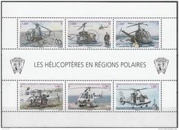 TAAF 2013 Yvert F654 Neuf ** Cote (2015) 12.00 Euro Les Hélicoptères En Régions Polaires - Blocs-feuillets