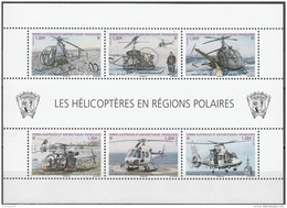 TAAF 2013 Yvert F654 Neuf ** Cote (2015) 12.00 Euro Les Hélicoptères En Régions Polaires - Blocks & Kleinbögen