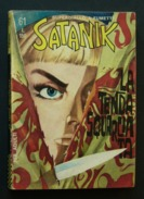 Satanik 61 - La Tenda Squarciata - Maggio 1967, Prima Edizione - Prime Edizioni