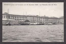 74637/ MESSINA Prima Del Terremoto 1908, La Palazzata Vista Dal Mare - Messina