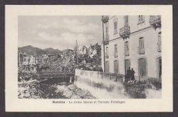 74657/ MESSINA, Terremoto 1908, Le Rovine Intorno Al Torrente Portalegne - Messina