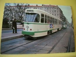 TRAIN 4942 - VUE N° 25/36 - SERIE DE 36 CARTES SUR LES TRAMWAYS DE SAINT ETIENNE DANS LA LOIRE - Tramways