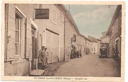 SAINT GENIS Les OLLIERES   ( Rhone )   GRANDE RUE N°2 - Altri Comuni