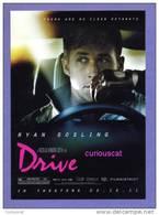 POSTCARD FILM CINEMA POSTER ADVERTISEMENT CARD For FILM MOVIE    DRIVE    With RYAN GOSLING - Plakate Auf Karten