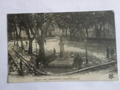 Bedarieux  Place Et Statue Cot - Bedarieux