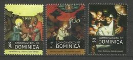 DOMINICA  2010  CHRISTMAS  SET  MNH - Kerstmis