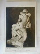 SCULPTURES - PARIS - Musée Rodin - Auguste RODIN - Le Baiser - Sculptures
