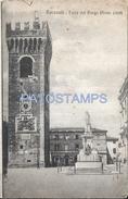 65425 ITALY RECANATI MACERATA TOWER THE VILLAGE POSTAL POSTCARD - Sin Clasificación