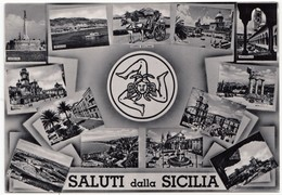 SALUTI Dalla SICILIA, Unused Postcard [19359] - Unclassified