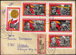 Germany DDR Werder 1966 / Spanish Civil War / Heroes Of The Anti-fascist Freedom Struggle / Helden Des Antifaschistische - Geschichte
