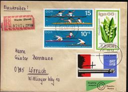 Germany DDR Werder 1966 / Canoe, Kayak World Championship