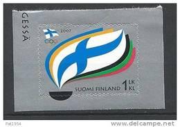 Finlande 2007  Neuf N°1832 Sport Comité Olympique