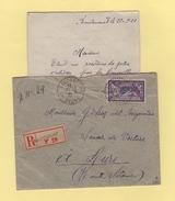 Baudoncourt - Haute Saone - 21-9-1921 - Recommande - Marcophilie (Lettres)