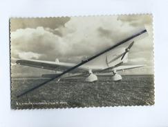 """CPSM - L'Aiglon Caudron """"Type C.600""""-Moteur Renault Bengali 100cv -(avion , Aviation ) - Avions"""