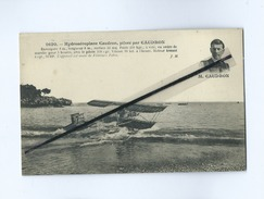 CPA - Hydroaéroplane Caudron Piloté Par Caudron  (avion , Aviation , Aviateur) - Avions