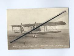 "CPA - Aéroplane Caudron Type C-33 - Landaulet ""Monsieur-Madame""  (avion , Aviation ) - Avions"
