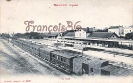 (88) Les Vosges - Mirecourt - La Gare - Train Locomotive -  2 SCANS - Mirecourt