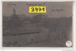 ALLG    AK PC CARTE PHOTO 3471  CAMP DE PRISONNIERS MAGDEBURG - Magdeburg