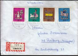 Germany Berlin 1969 / Figures / Wohlfahrtsmarken / Welfare Stamp - Childhood & Youth