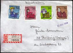 Germany Berlin 1968 / Dolls / Wohlfahrtsmarken / Welfare Stamp - Puppen