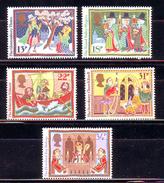 Great Britain - 1986 Christmas Stamps 5 V. MNH ** - 1952-.... (Elizabeth II)
