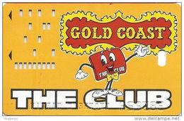 Gold Coast Casino Las Vegas 4th Issue Slot Card - Faraday On Back - Casino Cards