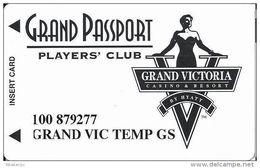 Grand Victoria Casino Rising Sun, IN Slot Card - TEMP Card - Casino Cards
