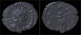Victorinus Billon Antoninianus Salus Standing Right - 5. L'Anarchie Militaire (235 à 284)