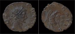 Divo Claudius II Gothicus Billon Antoninianus Eagle Standing Facing - 5. L'Anarchie Militaire (235 à 284)