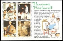 Etats-Unis / United States (Scott No.2840 - Norman Rockwell)+  (o) - United States