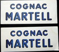 3 BUVARDS  ALCOOL COGNAC MARTELL   BON ETAT LOT DE 3 BUVARDS - Liqueur & Bière