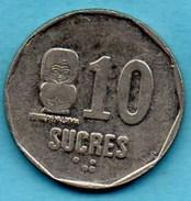 R80/ ECUADOR / EQUATEUR   10 Sucres 1991