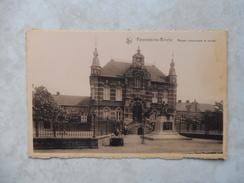 Carte Postale Peronnes Lez Binche Maison Communale Et écoles - Binche