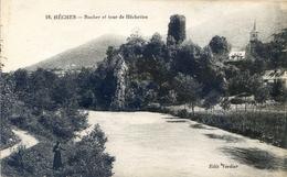 65 -  Heches - Rocher Et Tour D' Hêchettes - Francia