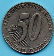 R240/ ECUADOR / EQUATEUR   50 Centavos 2000