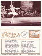 Postcard Margot Fonteyn 1946 British Prima Ballerina Dancer Ballet Sadlers Wells Repro - Dance