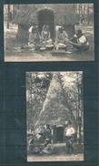 2 Belles Carte Postale Sur L'exposition Coloniale De 1907 - Briefe U. Dokumente