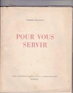 Pour Vous Servir - Arts Graphiques La Chaux De Fonds - P. Haeferli - Typographie - Art