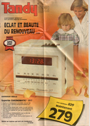 Publicité Tandy, 1985 - Werbung
